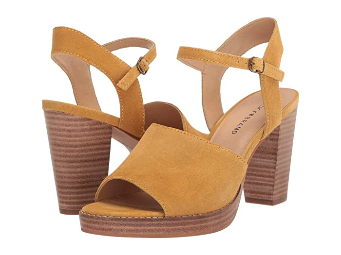Lucky Brand  Nanika (Golden Yellow) Womens Shoes