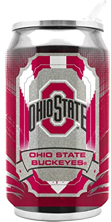 featured product NCAA Ohio State Buckeyes 16oz Double Wall Stainless Steel Thermocan