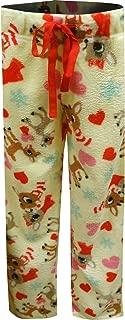 Women's Ultra-Soft Character Plush Drawstring Pajama Pant