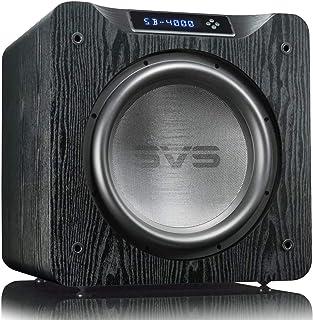 "SVS SB-4000 13.5"" 1200W Sealed Box Subwoofer Single Black Ash SB4000BA"