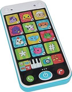 SIMBA 104010002 ABC Speelgoedtelefoon Smartphone, meerkleurig