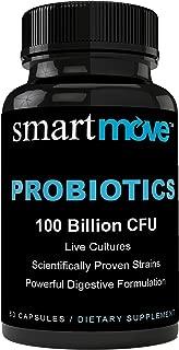 Digestive Relief Fighter Probiotic 100 Billion CFU. Natural & Potent, Shelf Stable Delayed Release Capsule, Non-GMO for Women & Men