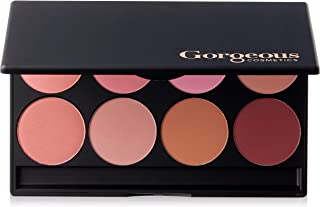 Gorgeous Cosmetics Everyday Blush Palette, 8 shades