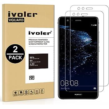 ivoler [2 Unidades] Protector de Pantalla para Huawei P10 Lite ...