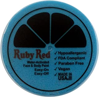 Ruby Red Paint Face Paint, 75ML - Sea Blue