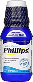 Phillips Milk of Magnesia, Original 12 fl oz (355 ml) (Pack