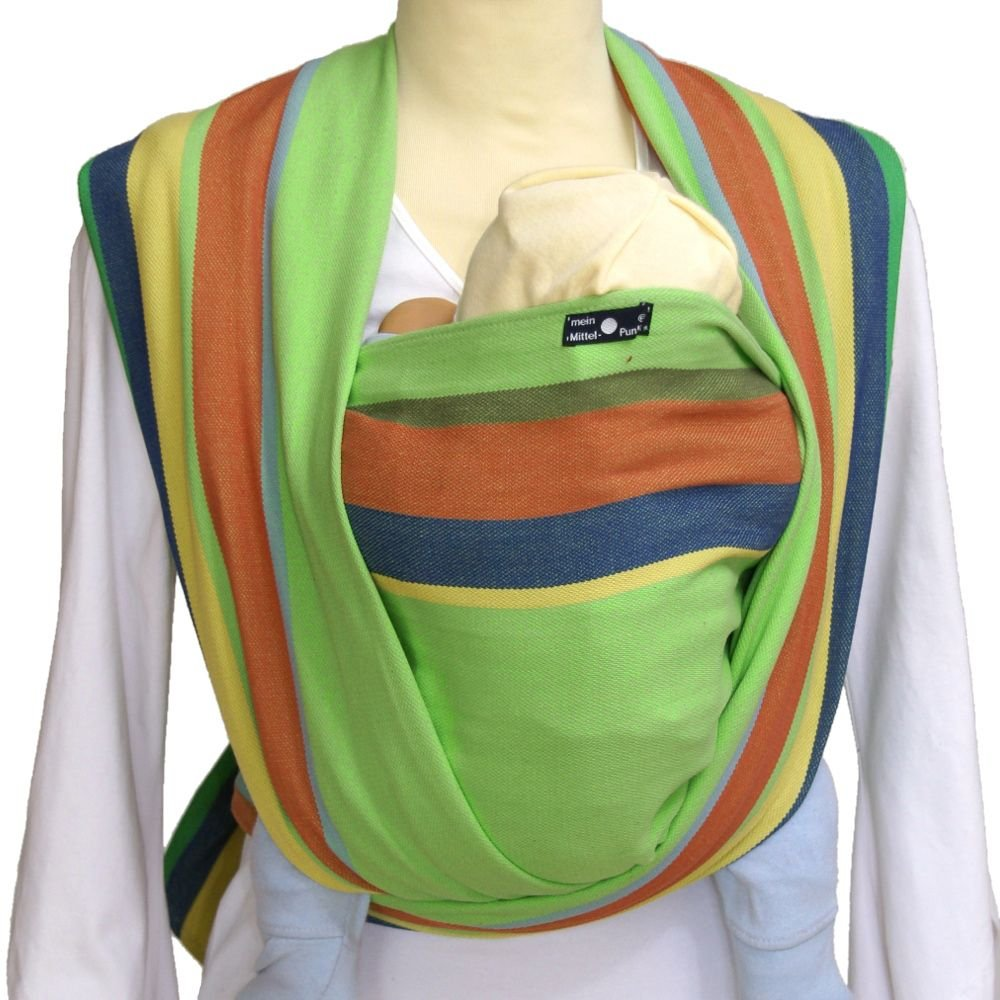 Didymos Baby Carrier Stripes - Simon, Size 6 (Discontinued by Manufacturer)