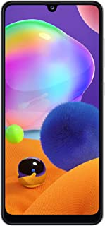 Samsung Galaxy A31 Dual SIM, 128GB, 4GB RAM, 4G LTE, UAE Version - Prism Crush White - 1 year local brand warranty