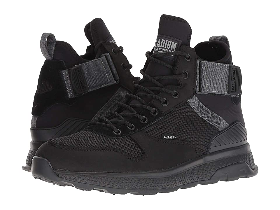 Palladium Ax Eon AR Mid (Black/Black) Men