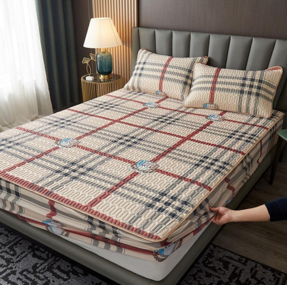 XLMHZP Super Soft Bed Lowest price challenge Sheet Fitted Embroidered Fashionable Cheap