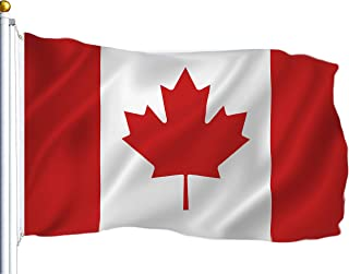 G128 – Canada (Canadian) Flag | 3x5 feet | Printed – Vibrant Colors, Brass Grommets, Quality Polyester