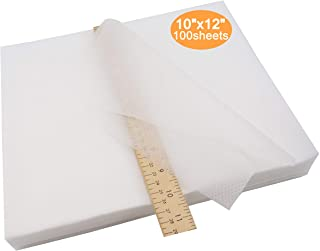 White Cotton Iron-On Tear-Away Cotton Embroidery Stabilizer /& Backing 50gsm 24 x25yd Roll ThreaDelighT Brand Super Stable Embroidery Stabilizer Backing