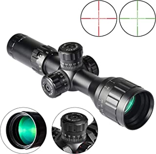 EZshoot 3-9x32 AO Red and Green Illuminated Scope, Mil-dot, 0.79''/20mm Mount