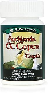 Aucklandia & Coptis Teapills (Xiang Lian Wan), 200 ct, Plum Flower