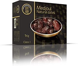 Medjool Dates Premium Top Quality Larger Softer, Sweeter Dates From Date Palms. Superfood Snacks Natural Dried Medjul Dates. Gluten-free for Athletes Date Fruit by King Solomon 2.2 Pounds, Large Size