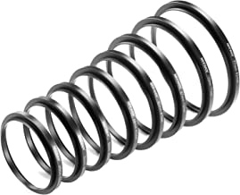 Neewer 8 Pieces Step-up Adapter Ring Set Made of Premium Anodized Aluminum, Includes: 49-52mm, 52-55mm, 55-58mm, 58-62mm, ...
