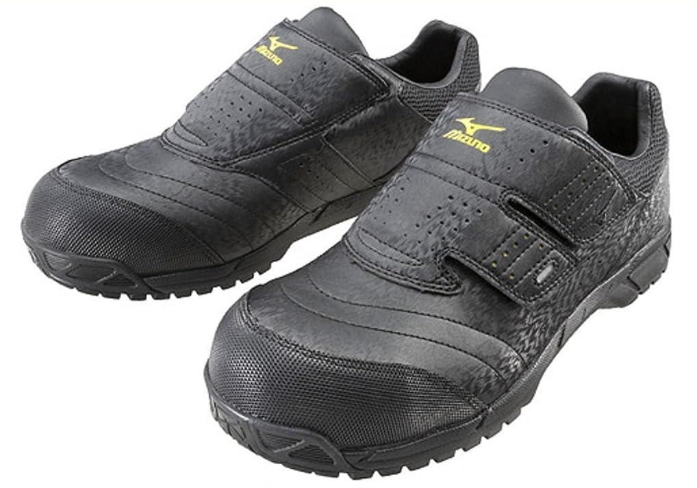 心配する放棄後[ミズノ] 安全靴 オールマイティ AS 軽量 静電気帯電防止 ベルト JSAA?普通作業用(A種)