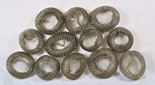 Mesh Washing Machine Lint Traps with Clamps - 24 Pack