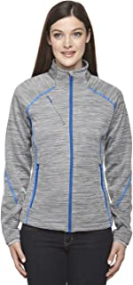 North End Sport Ladies Flux Mélange Bonded Fleece Jacket