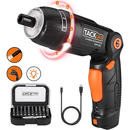 3.6V Electric Mini Lithium Rechargeable Cordless Screwdriver Drill Power Tool