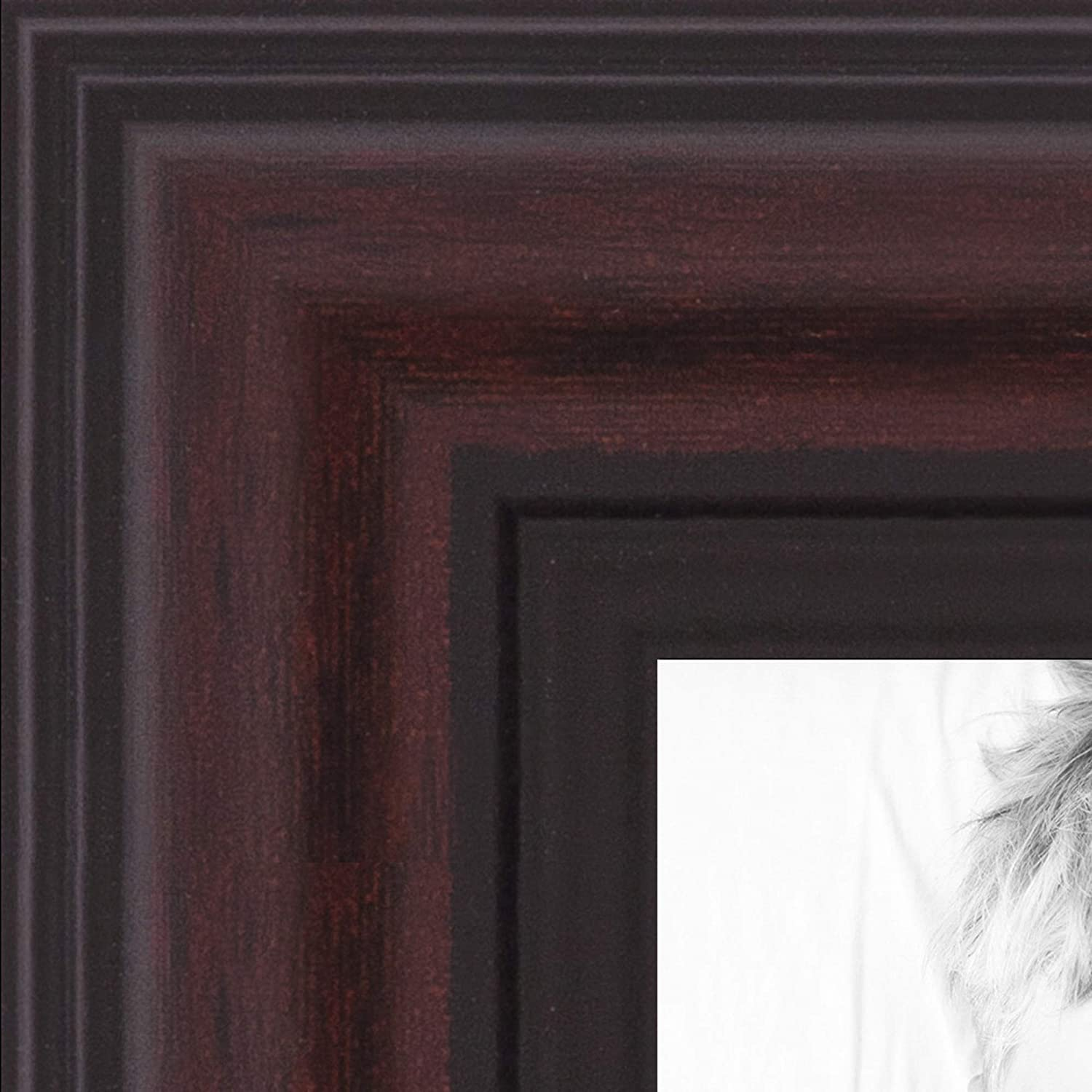 ArtToFrames 27x39 Inch Red Picture 1.25