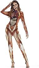 muscle print bodysuit