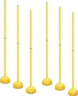 AGORA Portable Indoor/Outdoor Coaching Sticks - Set of 6