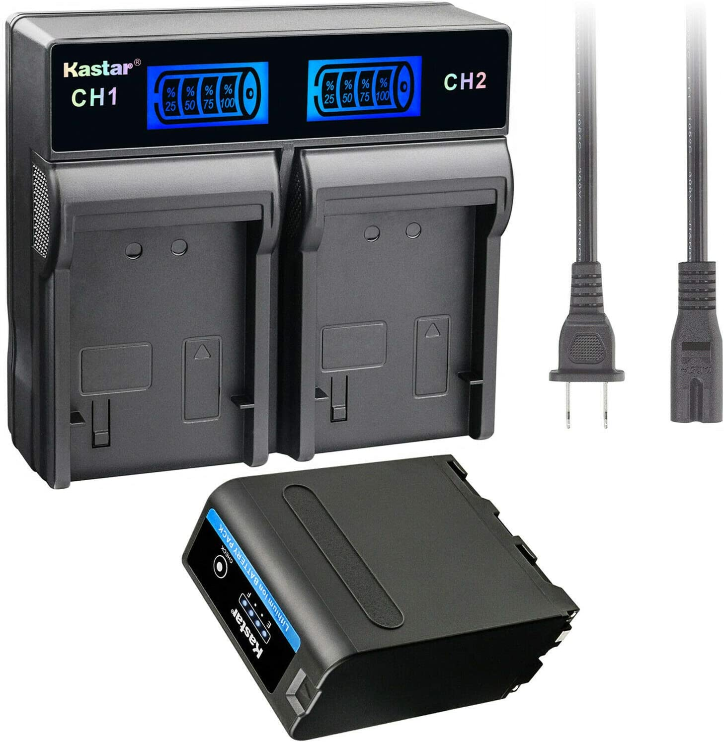 Kastar 1 Pack Battery NP-F990 LCD Luxury PRO Rapid Dual and Washington Mall