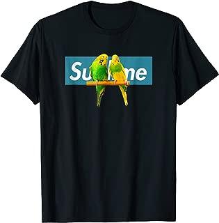 Adorable Budgie T-Shirt, Cute Budgie Shirt Blue Sublime Box