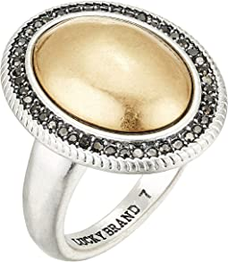 Gem Pave Statement Ring