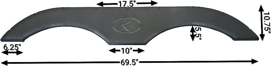 Keystone RV Fireside / Energy / Hornet / Sprinter / Summerland / Springdale / Hideout New Fender Skirt (Black)