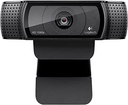 Logitech HD Pro Webcam C920, 1080p Widescreen Video Calling and Recording-(Certified Refurbished)