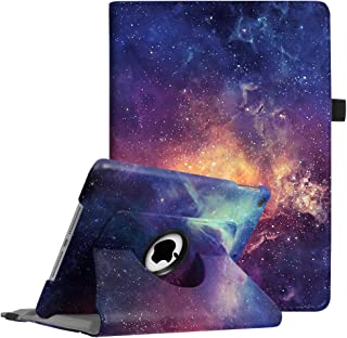 Fintie iPad 9.7 2018 2017 / iPad Air 2 / iPad Air Case - 360 Degree Rotating Stand Protective Cover with Auto Sleep Wake for iPad 9.7 inch (6th Gen, 5th Gen) / iPad Air 2 / iPad Air, Galaxy