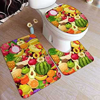 Best strawberry shaped rugs Reviews
