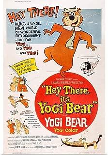 GREATBIGCANVAS Poster Print Hey There It's Yogi Bear by 12