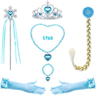 Princess Generic Costume Accessories Set for Toddler Girls Dress Up Birthday Party