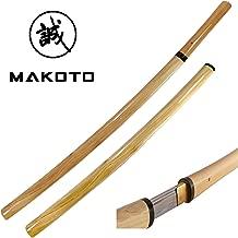 MAKOTO Handmade Sharp Samurai Shirasaya Sword …