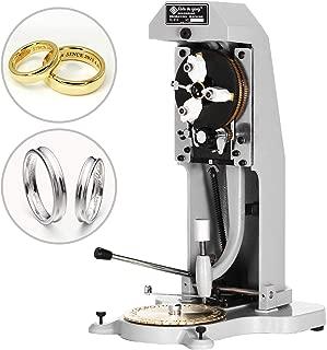 VBENLEM Ring Engraver for Rings Inner Engraving Inside Ring Engraving Machine Standard Letter Block Stamper Jewelry Ring Engraving Machine Double Sided Dial