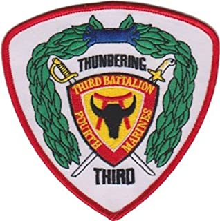 3rd Battalion 4th Marines USMC Patch