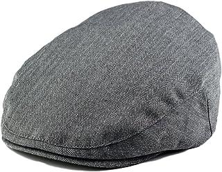 Born to Love Baby Boy's Hat Grey Herringbone Driver Page Boy Cap