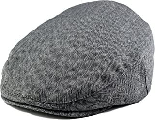 Born to Love Baby Boy's Hat Grey Herringbone Driver Page Boy Cap