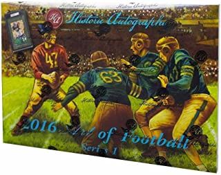 2016 Historic Autographs Art of Football Box