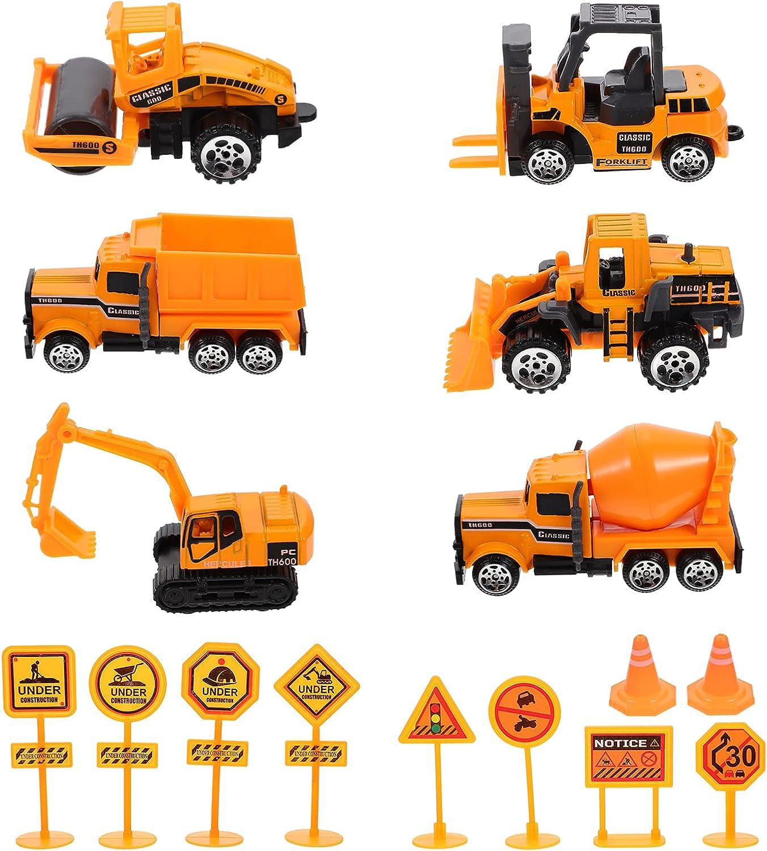 Toyvian Excavator Dump Truck Garbage Digger Detroit Purchase Mall Toy Set