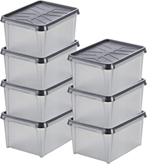 Lot de 7 Petites Boîtes de Rangement Étanches - Protègent contre Humidité, Poussière, Insectes et Variations de Températur...