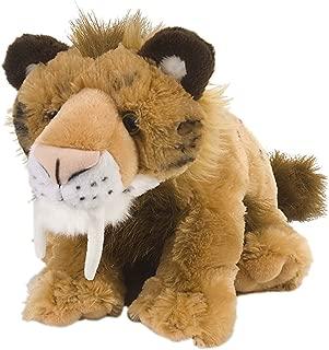 Wild Republic Smilodon Plush, Stuffed Animal, Plush Toy, Gifts for Kids, Cuddlekins 12 Inches