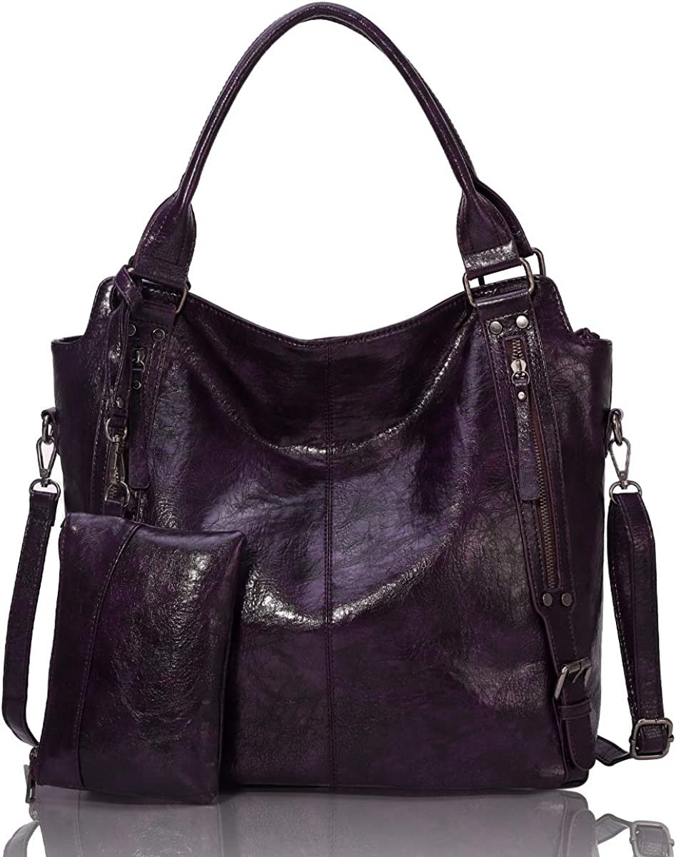 Genuine Free Shipping Angel Barcelo Womens Soft Leather Cr Large Shoulder Tote Handbag SEAL limited product