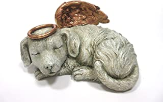 Pacific Giftware Pet Memorial Angel Dog Sleeping Cremation Urn Memorial Statue Bottom Load 30 Cubic Inch