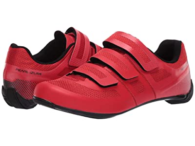 Pearl Izumi Quest Road Cycling Shoe (Torch Red/Black) Men