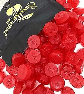 SweetGourmet Cherry JuJu Coins | Zachary Bulk Unwrapped Soft Candy | 2 Pounds
