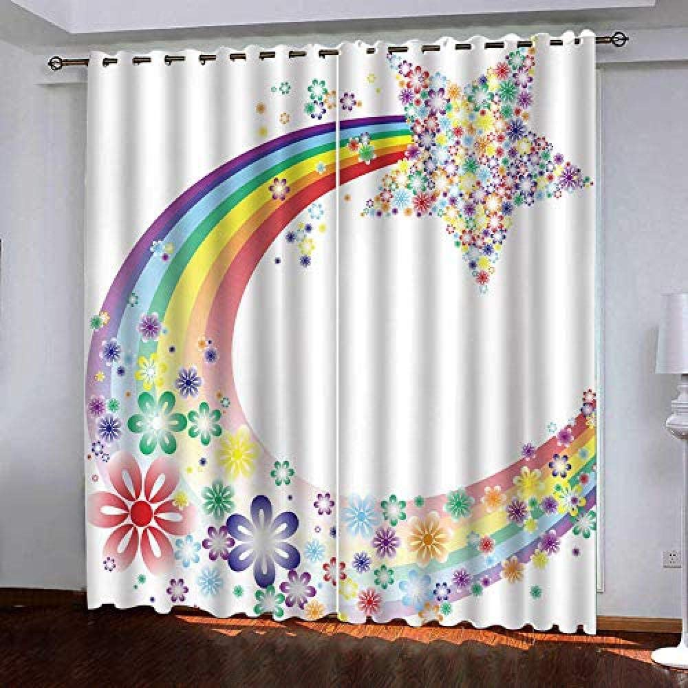Blackout Curtains for Bedroom Thermal In Moon Denver Mall Color Bombing free shipping